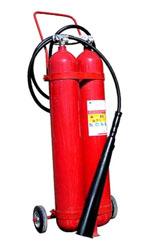 Огнетушитель углекислотный ОУ-15 (по старому ГОСТу - ОУ-20)