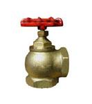 Кран пожарный (вентиль) 51 мм. латунь, угловой, 90гр.