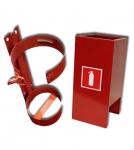 Подставки, кронштейны и шкафы для огнетушителей