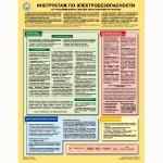 """PL-310 Плакат """"Инструктаж по электробезопасности на I-ю квалификационную группу для неэлектротехнического персонала"""""""