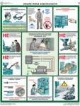 """PL-413 Комплект плакатов """"Безопасность работ на металлообрабатывающих станках"""""""