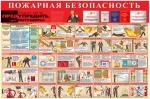 """ST-06  Стенд """"Пожарная безопасность (1000 x 1500)"""""""